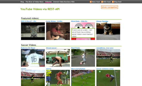 YouTube Rest API