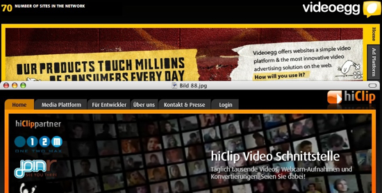 hiclip vs. videoegg