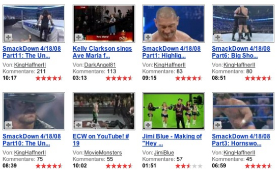 Verstopftes YouTube