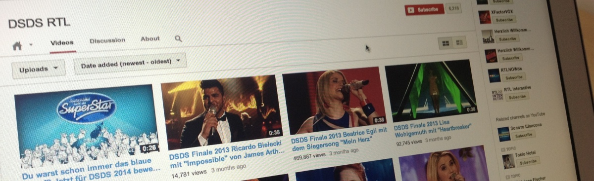 RTL-youtube-kanal